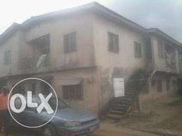 A story building of Four units of three bedroom flat for sell