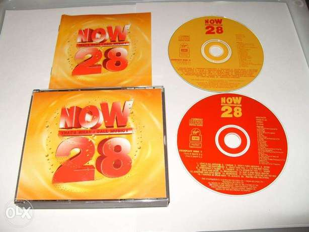 now 28 double music cd