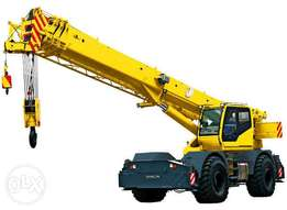 Need Heavy Equipment For Rent