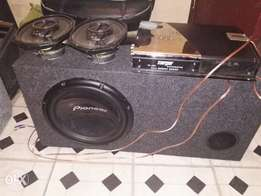 Sub with box amp 6x9's with full wire set