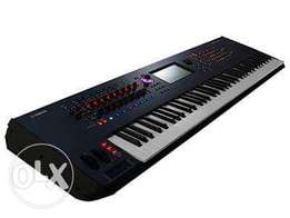 Yamaha Monatage 7 Workstation Synthesizer Keyboard (New)