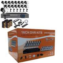 16 Channel HDMI CCTV D.I.Y Kit with HD Cameras