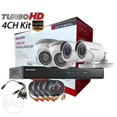 2MP ANALOG KIT 2Indoor + 2 Outdoor + DS-7204HQHI-K1 DVR + 20MTR CABLES