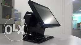 All_in_one touch screen POS system