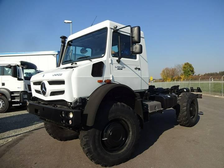 Mercedes-Benz Unimog U5023 Fahrgestell/Expeditionsfahrzeug 4x4
