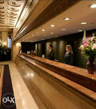 Hiring now receptionists AM,PM and night shift at Senator Hotel