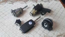 Original Vw Polo flip Key with Ignition for sale