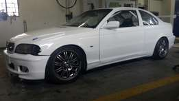 E46 coupe race car for sale or swop