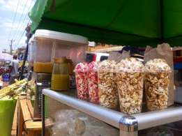 Popcorns machines...sugarcane juice machine