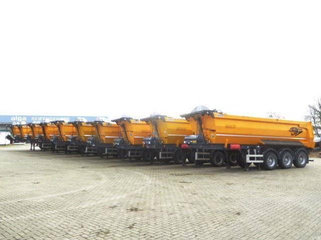 Stahl inc seckinler 28m³ inhalt  10x am lager - 2017