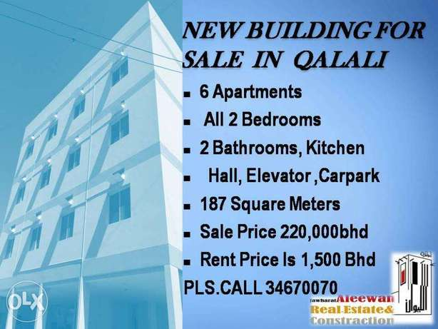 New building for sale in Qalali