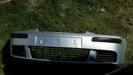 VW MK5 OEM FRONT BUMPER NOT gti .good condition.silver in colour