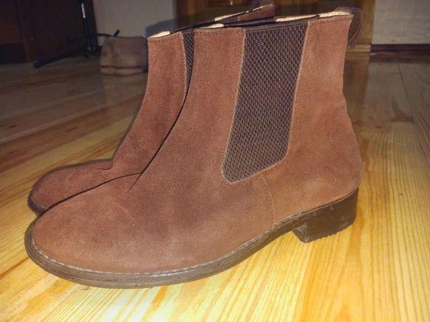Осінні чоловічі черевики замшеві 956a43021752b