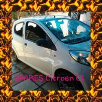 Citroen C1 stripping 4 spares