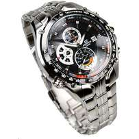 Casio Edifice Screw Lock with Chronograph
