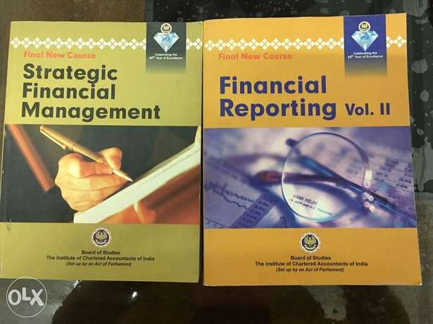 5 books for CA / CPA / CFA / CMA course materials