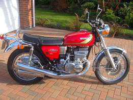 Suzuki GT 550 wanted for cash any condition