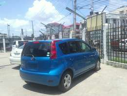 Nissan note brand new car