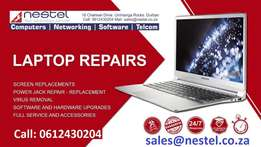 Laptops, Computers and tablets repairs