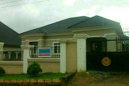 For sale: 3bedrooms been bungalow with 2rooms BQ in 69th road gwarinpa