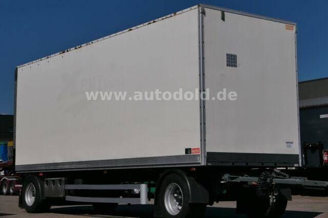 Lecitrailer Koffer Rolltor Scheibenbremsen BWP Eco L: 7,70 m - 2011
