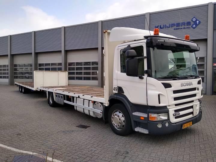 Scania P 320 B / NL truck / Including trailer - 2011