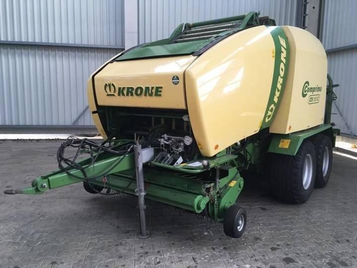 Krone comprima cv 150 xc - 2010