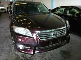 Toyota Vanguard Winered 2010 model KCM number. Loaded with alloy rims