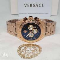 Versace rose gold chain