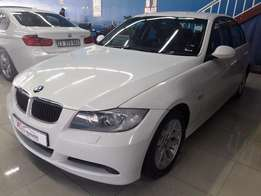 2007 BMW 320d Exclusive AUTOMATIC (white)
