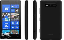 nokia lumia 820 with windows 10 cracked operating system. also exchang