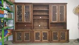 Wall Unit Solid Wood