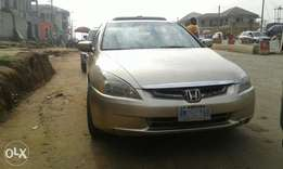 Neatly used honda accord 2004 model for sale