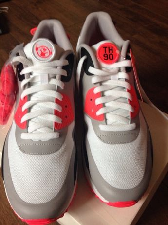 "Nike Air Max 90 Infrared ""Patch"" 12US Marki • OLX.pl"