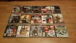 15 PS3 games for sale or WHY