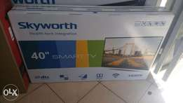 New Skyworth 40 inch smart and digital tv.
