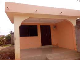 Two bedroom self compound fit rent at spintex