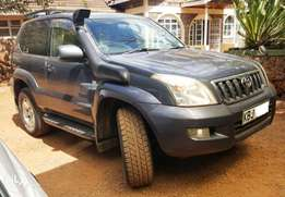 2002 Toyota L/C Prado SWB, auto 2.7L petrol, well maintained