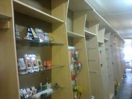 Shop Fixtures, Fittings and Furniture
