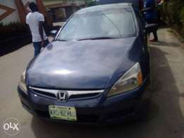 Very cleàn Honda accord (discussion continues) 2007 model available