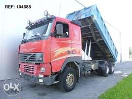 Volvo Fh16.470 6x2 Manual Full Steel Hub Reduction - To be Imported