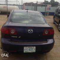 Mazda 3, just one month used bought tokunbo last month