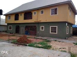Completed One Storey Building with 4 Apartments!