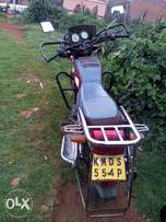 It is a good motoborbike used only at home