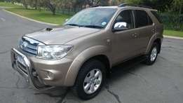 2010 toyota fortuner 3.0 D4D FOR SALE