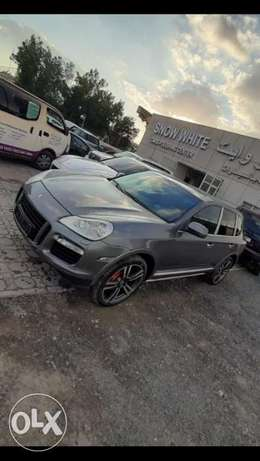 Porsche cayenne Turbo 2009 trip ticket جمرك