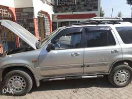 A well maintained Crv Honda for sale