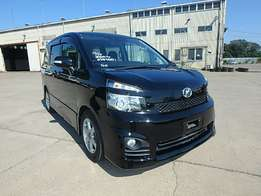Toyota voxy just arrived on sale.