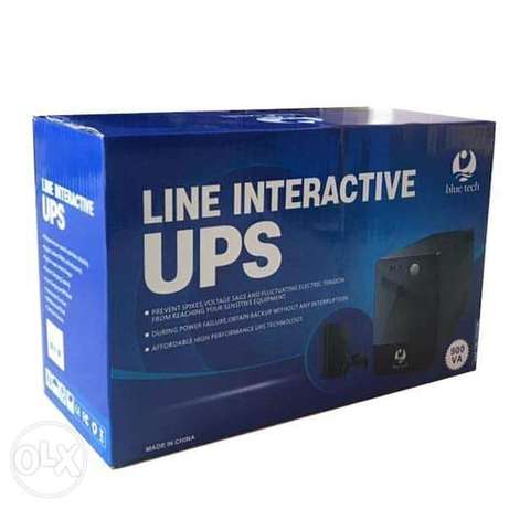 Blue Tech Line Interactive Ups for PC & PS4