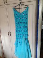 c7f8133bcca Голубое танцевальное платье для девушек